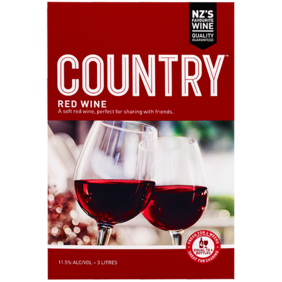Country Red 3L Cask