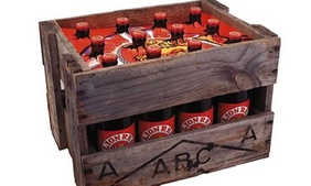 Lion Red Crate